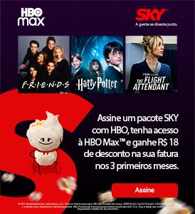 Assine SKY e tenha HBO Max por R$9,90 nos primeiros meses.